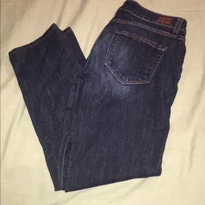 Paige Denim Skyline Ankle Peg Jeans Sz 27 (30x26)